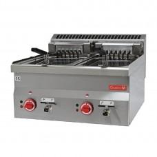 Gastro-M elektrische friteuse 10+10ltr 60/60 FRE