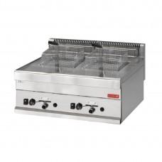 Gastro-M gas friteuse 8+8 liter 65/70 FRG