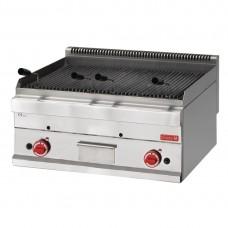 Gastro-M 650-serie gas lavasteen grill 65/70 GRL
