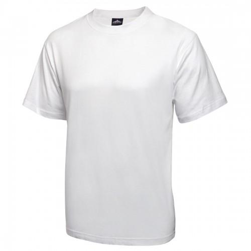 T-shirt wit - Maat XL Heren Shirts