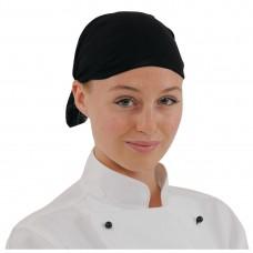 Buff hoofddoek zwart Koksmutsen en Caps