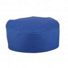 Whites Skullcap Kobalt Blauw Universele Maat Koksmutsen en Caps