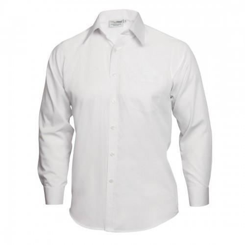 Heren Overhemd Wit.Heren Overhemd Wit Maat M