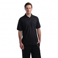 Poloshirt zwart - Maat L Poloshirt Heren