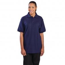 Poloshirt donkerblauw - Maat L Poloshirt Heren