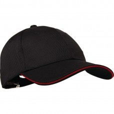 Chef Works Cool Vent baseball cap rood Koksmutsen en Caps