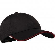 Chef Works Cool Vent baseball cap rood Koksmutsen en Caps