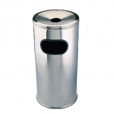 Bolero lobby afvalbak rvs 20x60cm Afvalbeheer