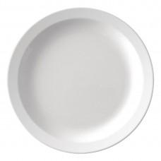Kristallon melamine bord met smalle rand 16,5cm Kristallon Servies