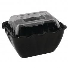 Kristallon presenteerschaal zwart 0,75ltr Kristallon Servies