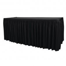 Combi rok zwart