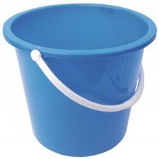 Kunststof emmer 10ltr blauw Emmers Mop