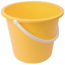 Kunststof emmer 10ltr geel Emmers Mop