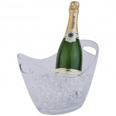 Champagne bowl helder klein Wijn- Champagnekoelers