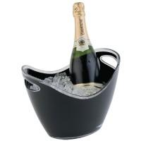 Champagne bowl zwart klein Wijn- Champagnekoelers