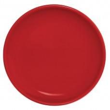 Olympia coupebord rood 20cm Olympia Gekleurd