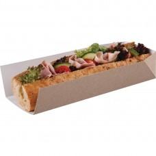 Baguettedoosje met open zijde 25,4cm Disposables Fast Food