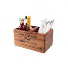 T&G Woodware tafelorganiser met krijtbord Tafelstandaards