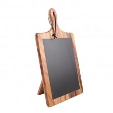 T&G Woodware Toscaanse Krijtbordplank met standaard Tafelkrijtbord