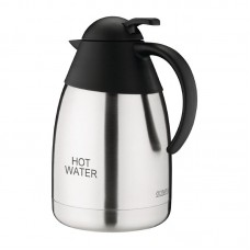 RVS isoleerkan 'HOT WATER' 1,5ltr Thermoskannen