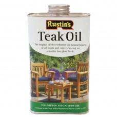 Rustins Teak Olie Inhoud 1 Liter Terrasstoelen