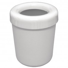 Melamine afvalbakje wit 13 Ø x 15(h) cm Afval- Asbakken