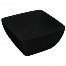 Kristallon gebogen kom zwart Ø279mm Kristallon Servies
