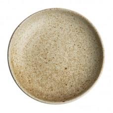 Olympia Canvas diepe coupe borden crème 23cm per 6