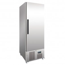 Polar 1-deurs slimline RVS koeling 440ltr Koelkasten