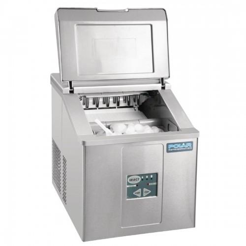 Polar Tafelmodel IJsblokjesmachine 15kg output IJsblokjesmachines