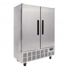 Polar 2-deurs slimline RVS koeling 960ltr