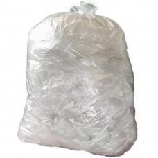 Jantex middelzware kwaliteit vuilniszakken 10kg transparant Vuilniszakken