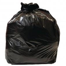 Jantex middelzware kwaliteit vuilniszakken 10kg zwart Vuilniszakken