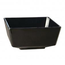 Float melamine vierkante kom zwart 13cm Melamine Float