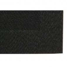 PVC geweven placemats zwart Placemats