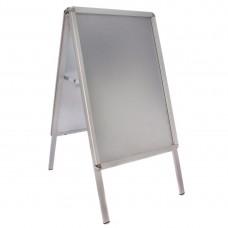 Aluminium stoepbord A2 klapbord Menumappen