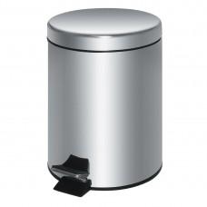 Pedaalemmer RVS 20ltr zilver Afvalbakken