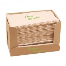 Gerecyclede servetten van kraftpapier 1-laags Servetten