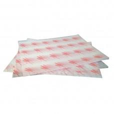 Vetvrij hamburger papier rood Disposables Vetvrij Papier