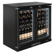 Polar horizontale wijnkoeling met klapdeuren Wijnklimaatkasten