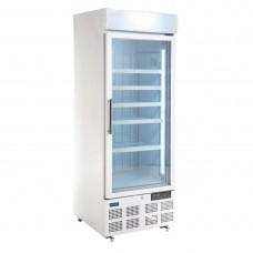 Polar display vriezer met lichtkoof 412ltr Display Vriezers