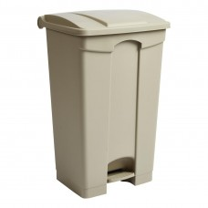 Jantex beige pedaal afvalbak 87Ltr Afvalbeheer