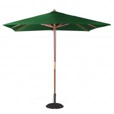 Bolero vierkante groene parasol 2,5 meter Parasols