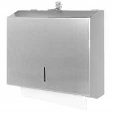 Jantex gepolijste RVS handdoek dispenser Handdoekdispenser