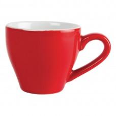 Olympia espresso kop rood 10cl Olympia Gekleurd
