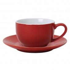 Olympia koffie kop rood 23cl Olympia Gekleurd