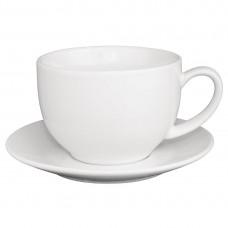 Olympia cappuccino kop wit 34cl Olympia Gekleurd