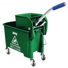 Jantex mopemmer met wringer groen Emmers Mop