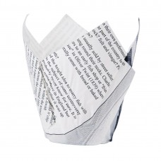 Friteszak krantenpapier opdruk Disposables Fast Food
