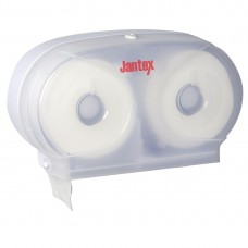 Jantex Micro dubbele toiletrol dispenser Toiletroldispenser